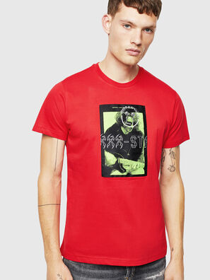T-DIEGO-J1, Rot - T-Shirts