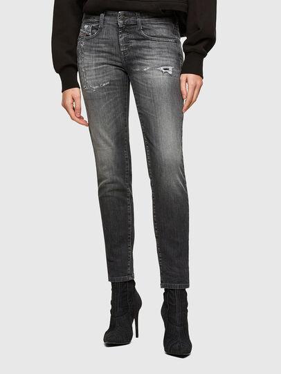 Diesel - D-Ollies JoggJeans® 009QT, Schwarz/Dunkelgrau - Jeans - Image 1