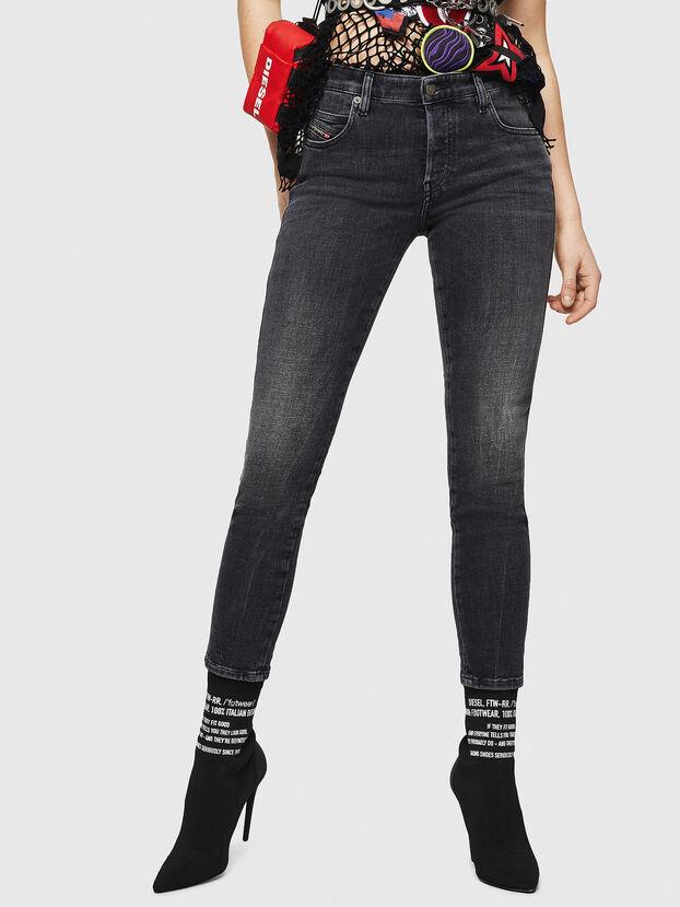 Babhila 081AH, Schwarz/Dunkelgrau - Jeans