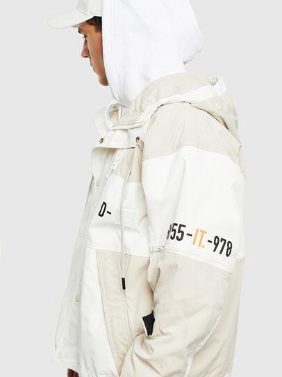 Diesel - J-REED, Weiß - Jacken - Image 5