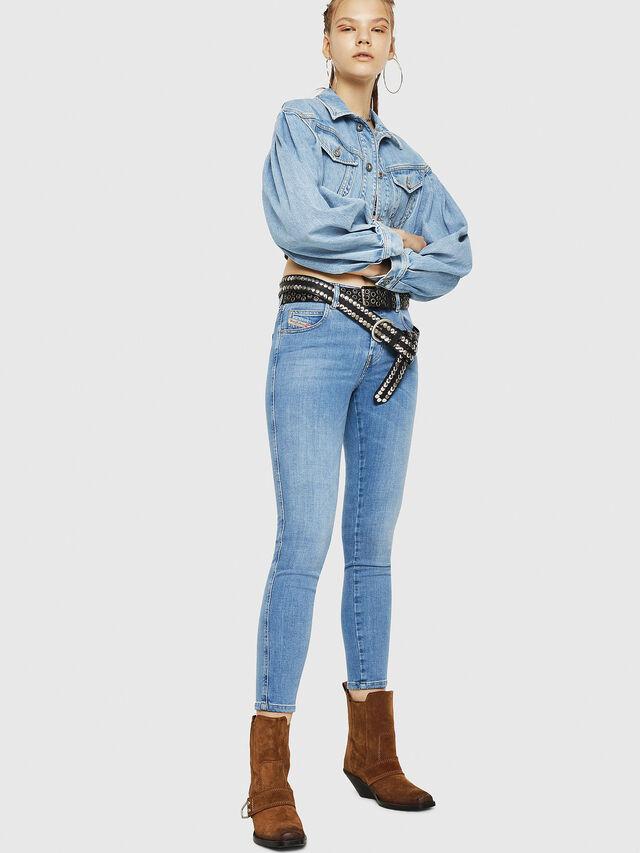 Diesel - Babhila 086AK, Hellblau - Jeans - Image 6