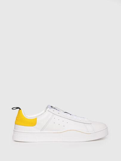 Diesel - S-CLEVER LOW, Weiß/Gelb - Sneakers - Image 1