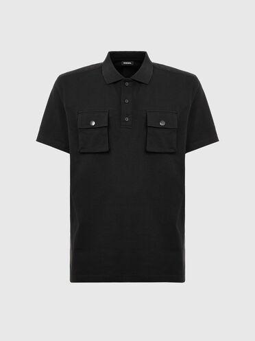 Poloshirt mit Utility-Taschen
