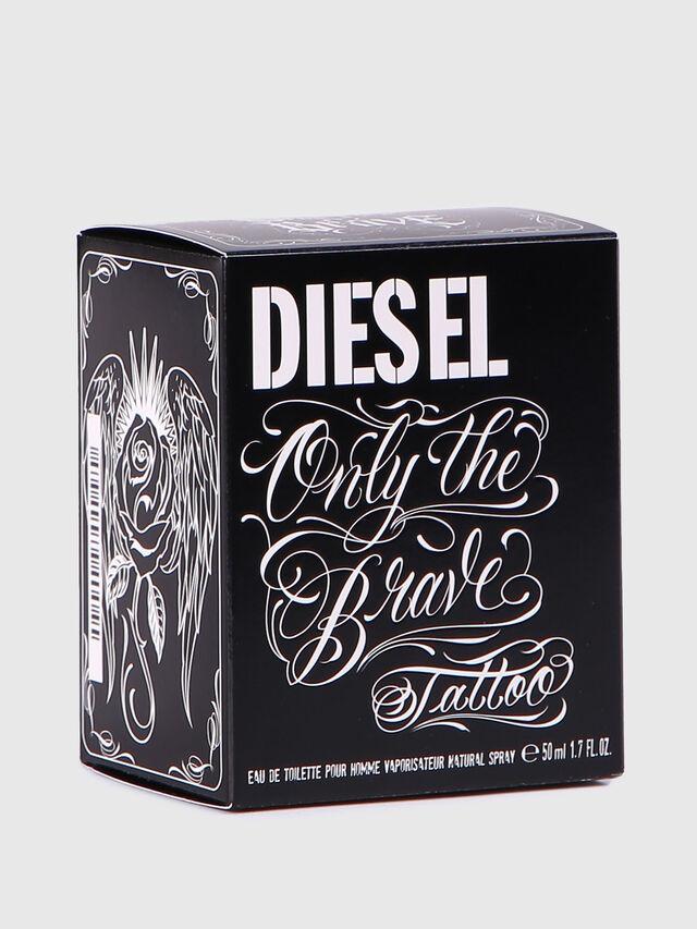 Diesel - ONLY THE BRAVE TATTOO 50 ML, Brillantschwarz - Only The Brave - Image 4