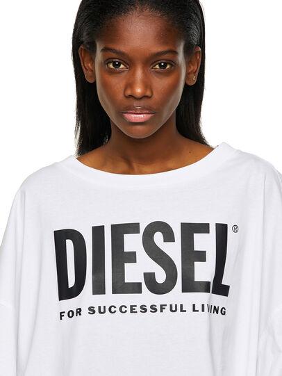 Diesel - D-EXTRA-ECOLOGO, Weiß - Kleider - Image 3