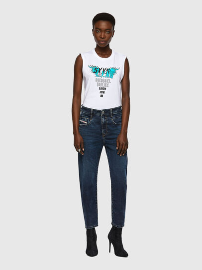 Diesel - Fayza JoggJeans® 069WZ, Dunkelblau - Jeans - Image 5