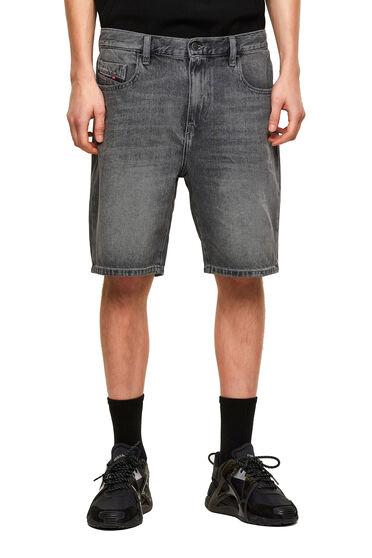 Jeansshorts im Slim Fit