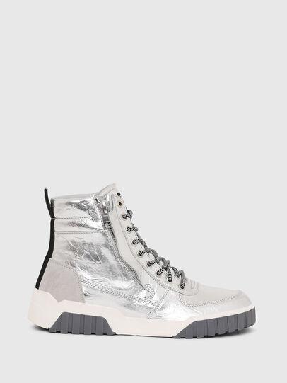 Diesel - S-RUA MID W, Silber - Sneakers - Image 1