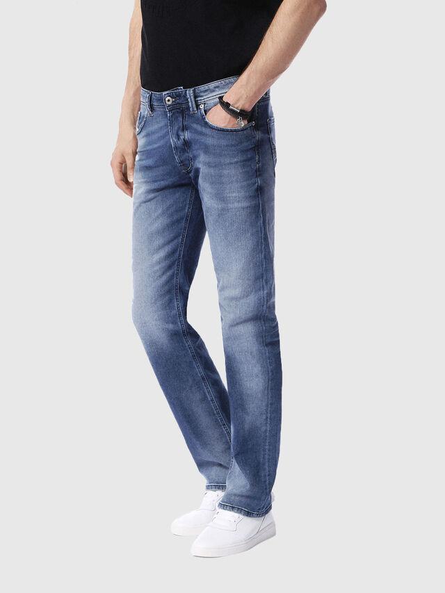 Diesel - Larkee 0853P, Mittelblau - Jeans - Image 4
