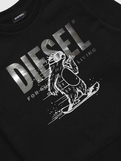 Diesel - SBEAR-TSE, Schwarz - Sweatshirts - Image 3