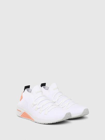 Diesel - S-KB ATHL LACE W, Weiß/Rosa - Sneakers - Image 2