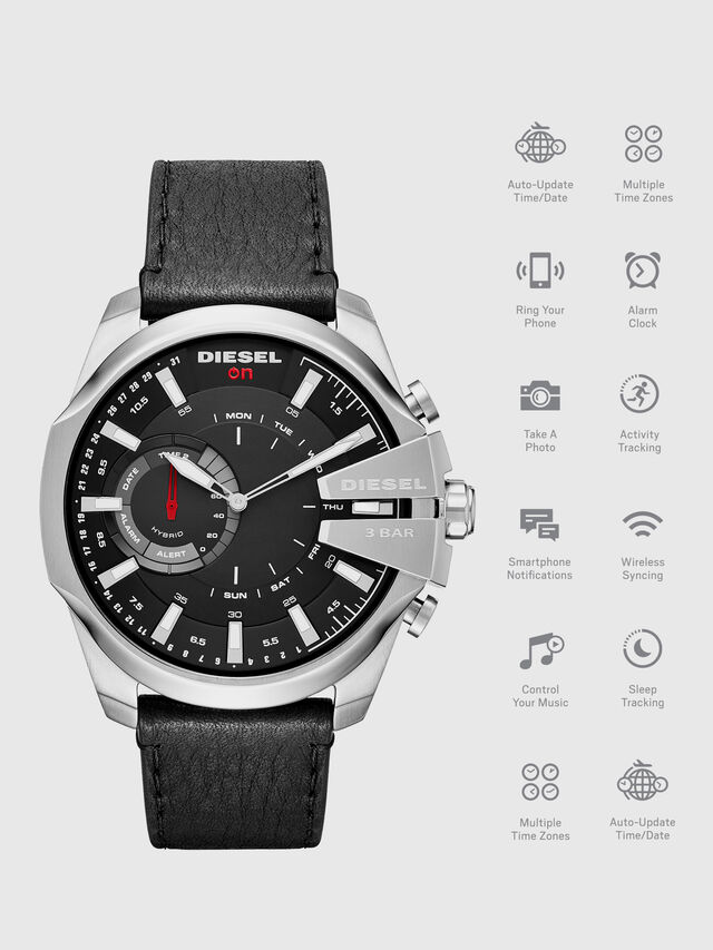 Diesel - DT1010, Schwarz - Smartwatches - Image 1