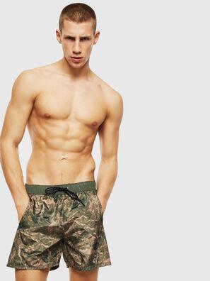 BMOWT-DORSAL, Camouflagegrün - Badeshorts