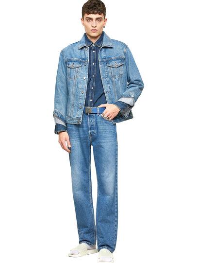 Diesel - D-Macs 009MG, Mittelblau - Jeans - Image 5