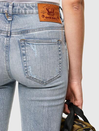 Diesel - Slandy High 009TG, Hellblau - Jeans - Image 4
