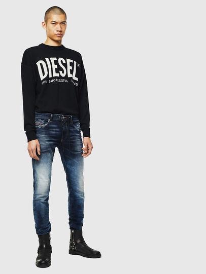 Diesel - Thommer JoggJeans 069KD, Dunkelblau - Jeans - Image 5