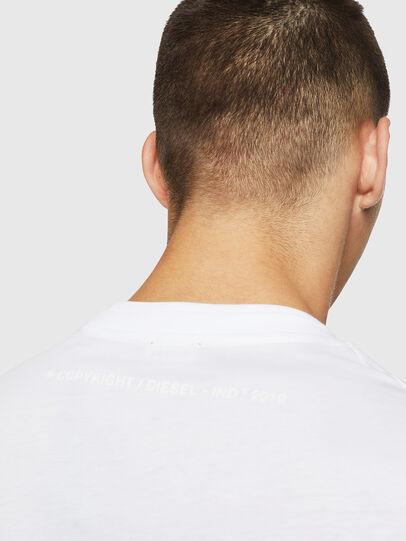 Diesel - T-LAZAREV, Weiß - T-Shirts - Image 4