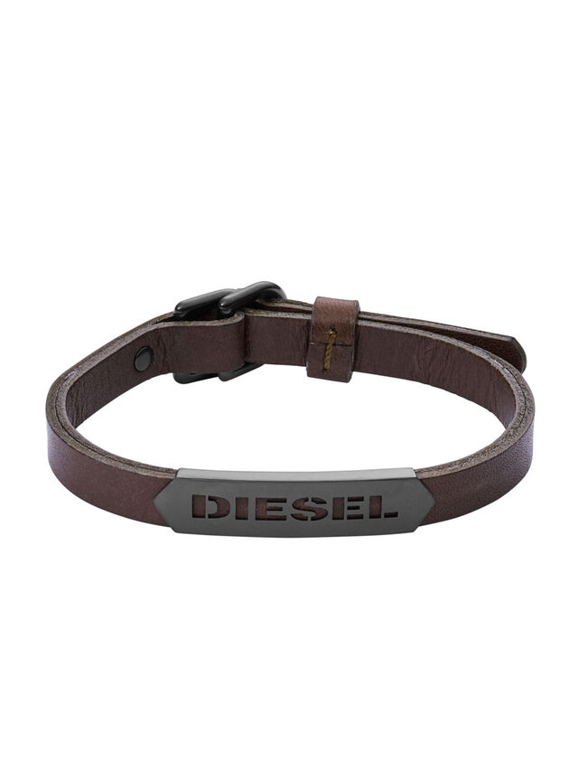 Diesel BRACELET DX1001, Braun - Armbänder - Image 1