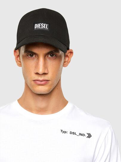 Diesel - T-JUST-LS-A8, Weiß - T-Shirts - Image 3