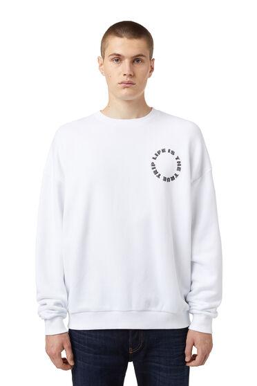 Green Label Sweatshirt mit Fingerabdruck