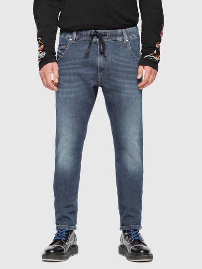 Diesel - Krooley JoggJeans 084UB, Mittelblau - Jeans - Image 3