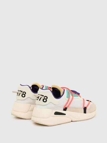 Diesel - S-SERENDIPITY LC EVO, Weiss/Rosa - Sneakers - Image 3