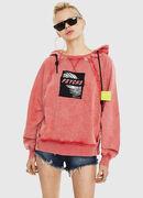 F-CAROL, Hellrot - Sweatshirts