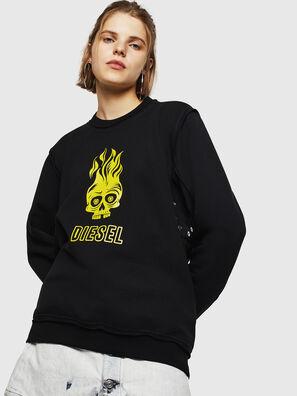 F-LYANY-E, Schwarz - Sweatshirts
