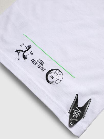 Diesel - TJUSTLS-NEW, Weiß - T-Shirts und Tops - Image 5