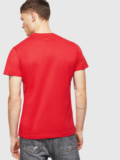 Diesel - T-DIEGO-J1, Rot - T-Shirts - Image 2