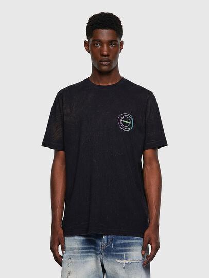 Diesel - T-JUST-E3, Schwarz - T-Shirts - Image 1