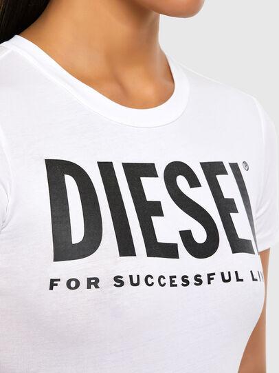Diesel - UFBY-BODYTEE, Weiß - Bodys - Image 3
