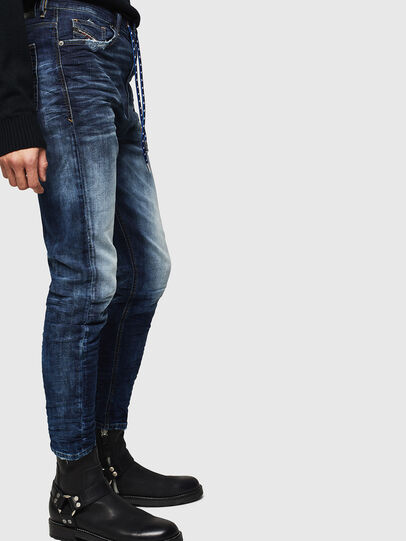 Diesel - D-Vider JoggJeans 069KD, Dunkelblau - Jeans - Image 4