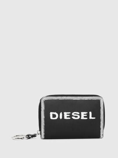 Diesel - BUSINESS II, Schwarz/Weiß - Kleine Portemonnaies - Image 1