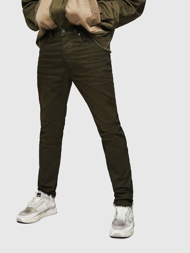 Mharky 0078D, Armeegrün - Jeans