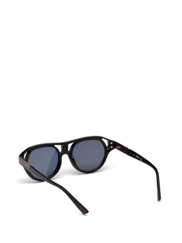 Diesel - DL0233, Schwarz - Sonnenbrille - Image 4