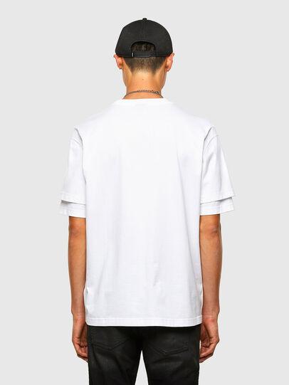 Diesel - T-FONTAL, Weiß - T-Shirts - Image 2