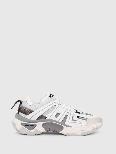 Diesel - S-KIPPER LOW TREK, Weiß/Grau - Sneakers - Image 1