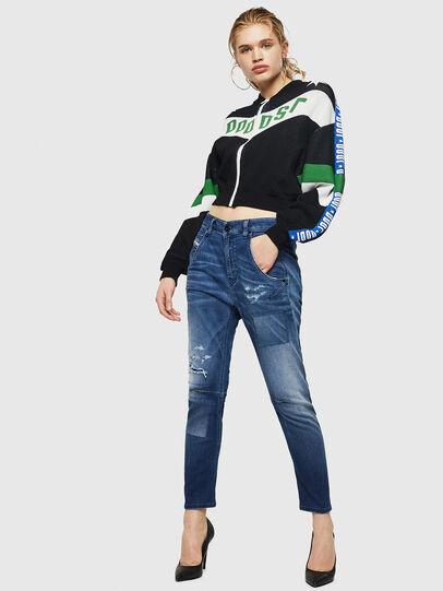 Diesel - Fayza JoggJeans 069HB, Mittelblau - Jeans - Image 7