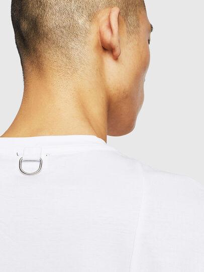 Diesel - T-TOMI, Weiß - T-Shirts - Image 5