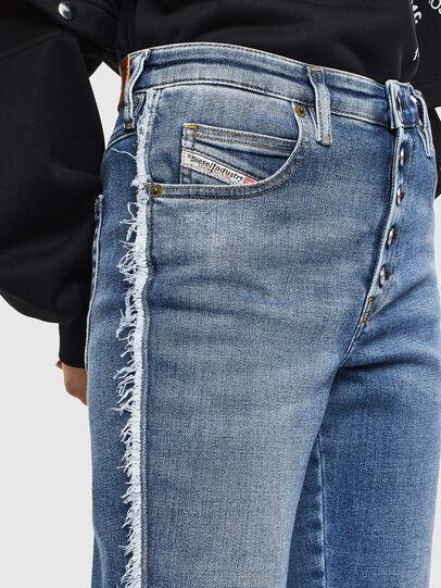 Diesel - Babhila 009AA, Mittelblau - Jeans - Image 3