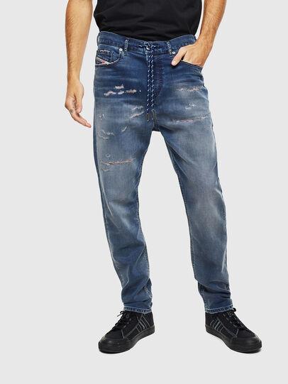 Diesel - D-Vider JoggJeans 069LW, Dunkelblau - Jeans - Image 3