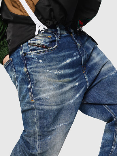 Diesel - D-Vider JoggJeans 0870Q, Mittelblau - Jeans - Image 3