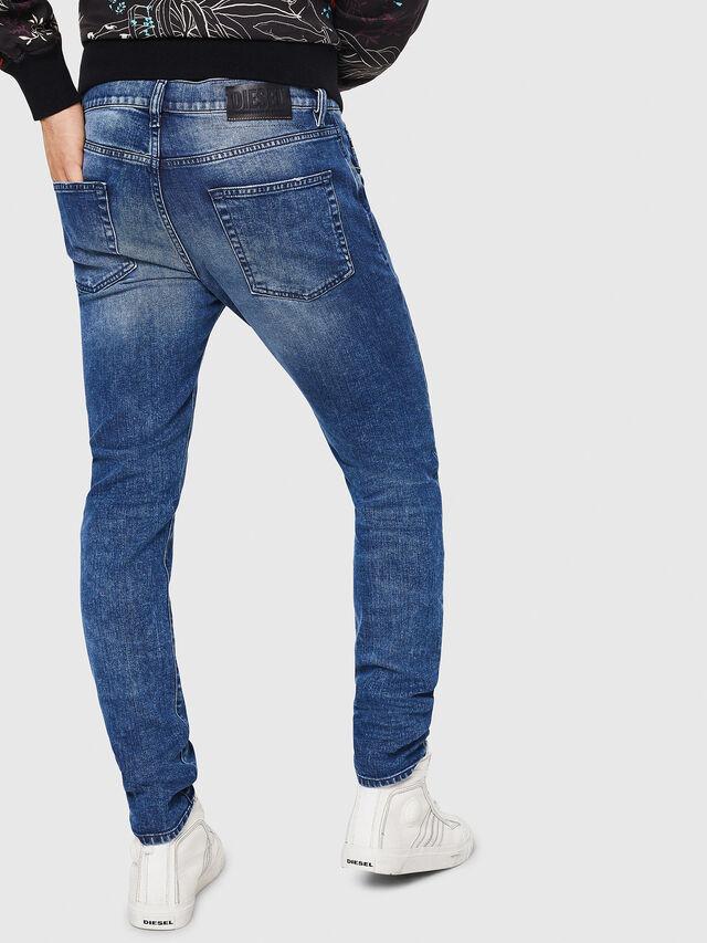 Diesel - D-Strukt 081AQ, Mittelblau - Jeans - Image 2
