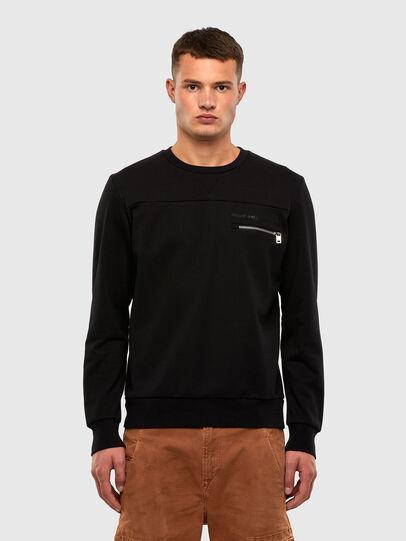 Diesel - S-CORINNE, Schwarz - Sweatshirts - Image 1