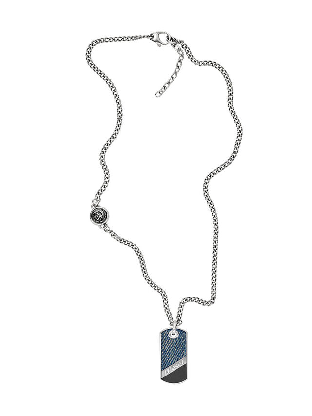 NECKLACE DX1030, Jeansblau
