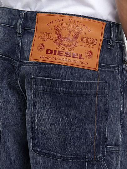 Diesel - D-Franky 009IY, Dunkelblau - Jeans - Image 5