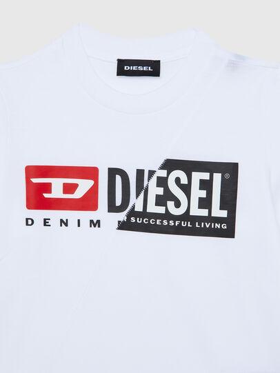 Diesel - TDIEGOCUTYB ML-R, Weiß - T-Shirts und Tops - Image 3