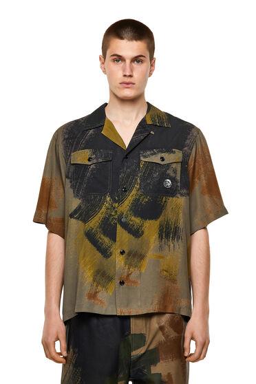 Bedrucktes Shirt aus Lyocell