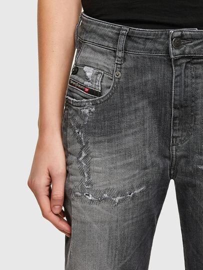 Diesel - Fayza JoggJeans® 009QT, Schwarz/Dunkelgrau - Jeans - Image 3